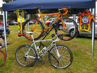 Steve - 'The Tiger' and  Sean - 'The white tiger' DeRosa King 3's
